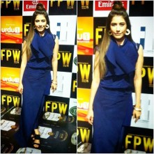 Syra Shahroz on red carpet