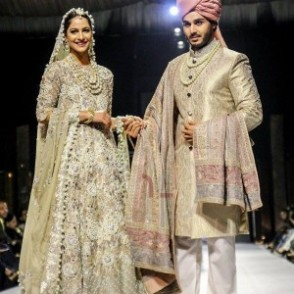 Ahsan Khan and Cybil J. Chaudhry on ramp