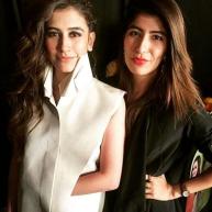 Syra Shahroz and Palwasha Yousuf