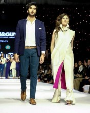 Imran Abbas and Syra Shahroz on ramp