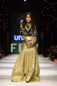Ayesha Omar on ramp
