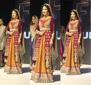 Mehwish Hayat on ramp