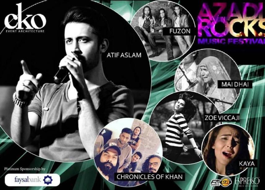 Azaadi Rocks Music Festival