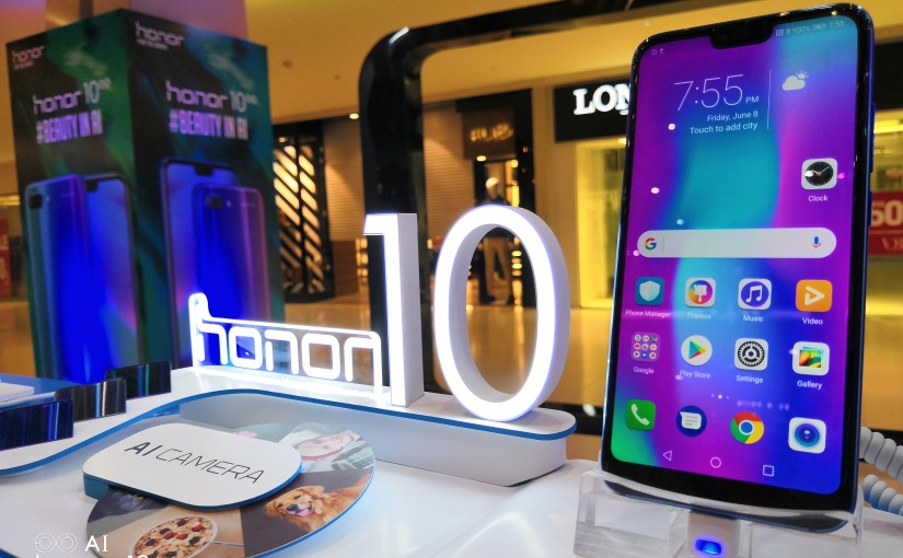 Honor 10 officially launched inPakistan